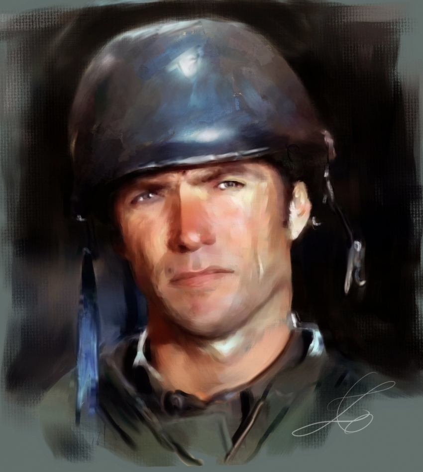 Clint Eastwood by z6ig